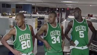 The Big Three Era in Boston (Paul Pierce, Ray Allen, Kevin Garnett)