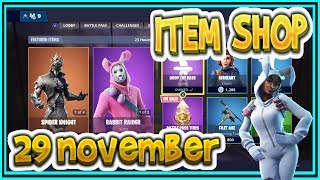 Fortnite ITEM SHOP November 29th all new SKINS and EMOTES-Playr NINE-English Fortnite EN