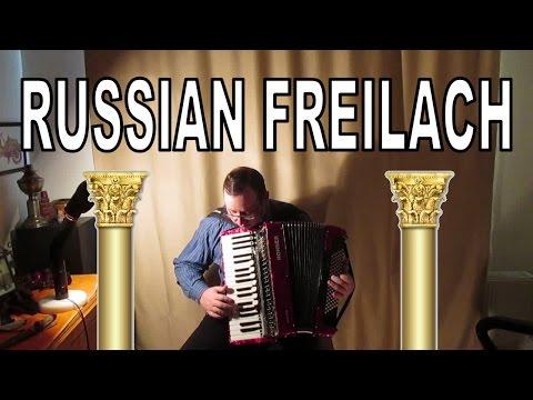 Russian Fleilach Klezmer (Jewish) Accordion