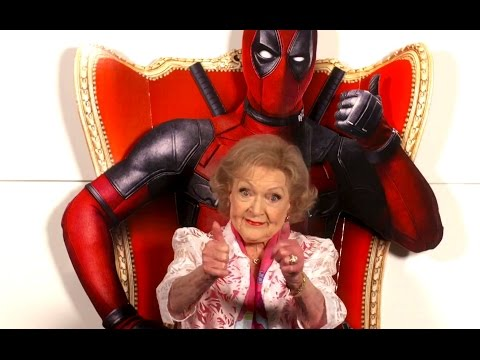 DEADPOOL Promo Clip - Betty White Review (2016) Ryan Reynolds Marvel Movie HD