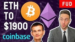 "ETHEREUM TO $1900? BITCOIN DOUBLE SPEND BUG? COINBASE ""POOR MAN'S"" INDEX FUND"