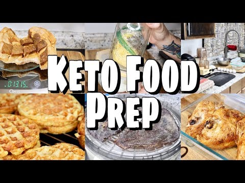 keto-carnivore-food-prep!-chaffles,-jerky,-deviled-eggs,-cracklin'-&-more!