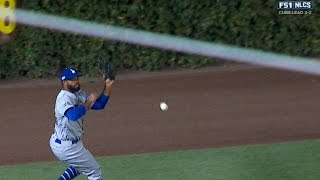 NLCS Gm6: Rizzo reaches base on an error in the 1st