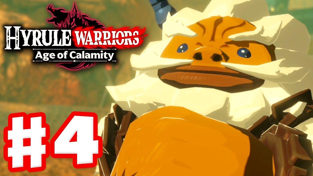 Daruk The Goron Hero Hyrule Warriors Age Of Calamity Gameplay Walkthrough Part 4 Youtube