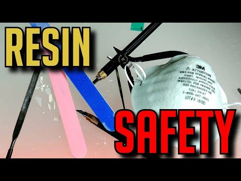 ⚠️ WORKING WITH RESIN ⚠️ SAFETY TIPS THINGS YOU MUST KNOW BEFORE STARTING