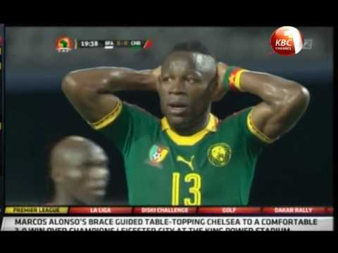 Soccer history made in AFCON opener