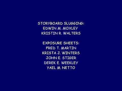 The Aaron Show Season 1 end credits (1995, FAKE)