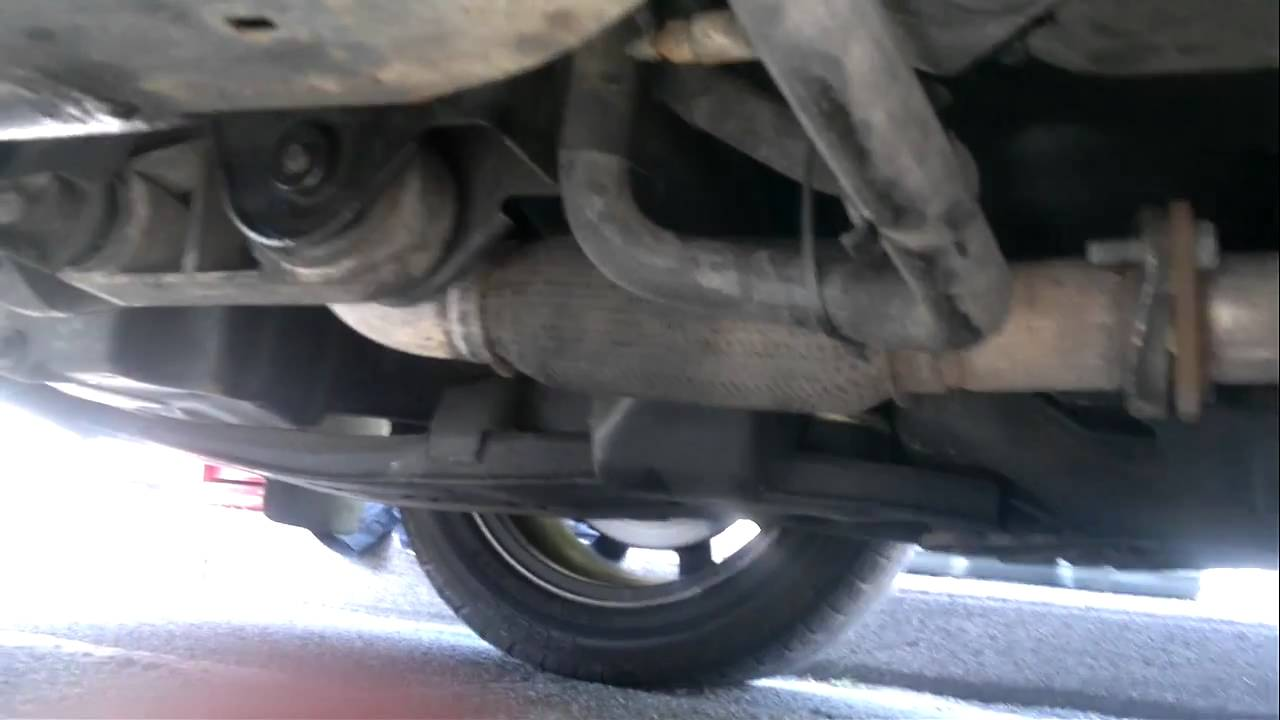 2003 Hyundai Sonata Engine Diagram Rear Lower Mount And Exhaust Flexi Pipe Movement Mondeo