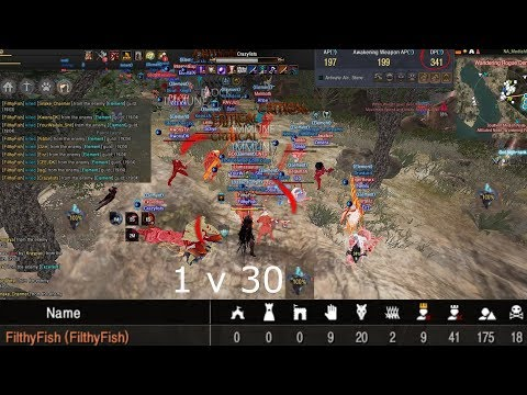 BDO 61 DP warrior 225 kills 18 deaths - Node war