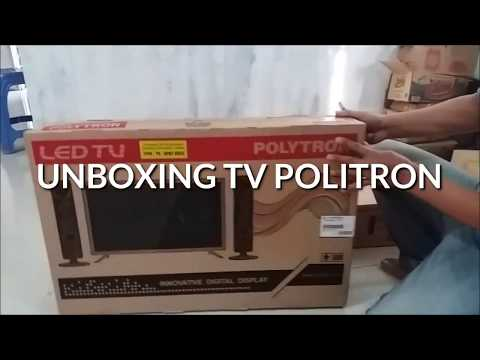 Review and UnBoxing Politron LedTv 32 inchi