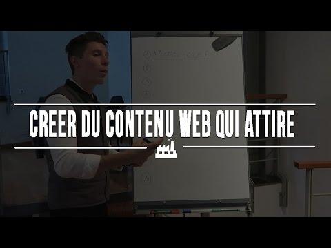 Comment créer du contenu Web qui attire