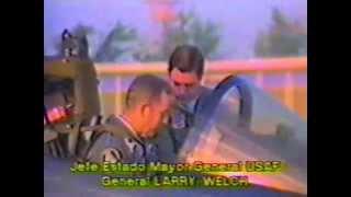 IA-63 PAMPA - GIRA DE GATO Y MANCHA (1988)