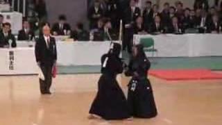 内村良一選手(赤) 対 正代賢司選手(白) 55th all japan kendo champ...