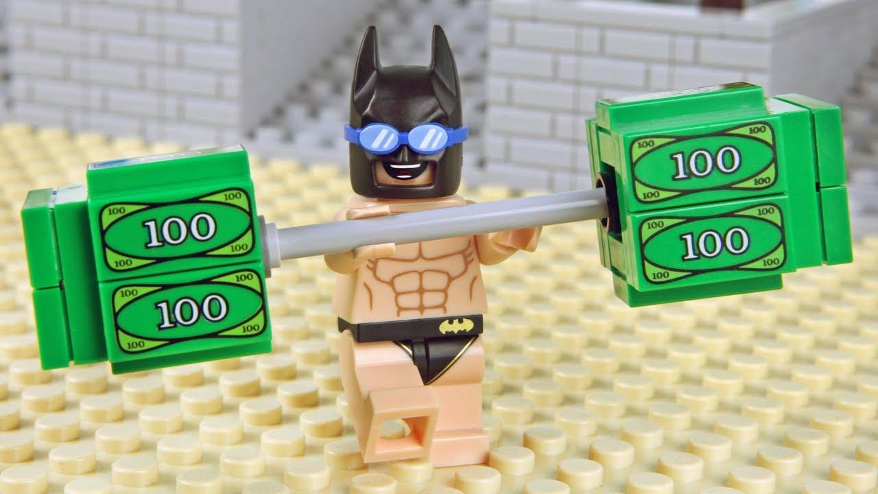 Lego Batman Gym Money