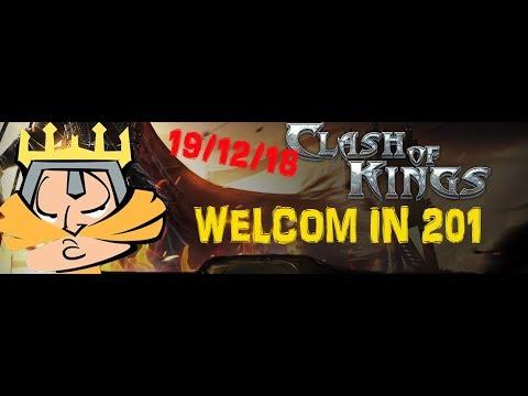 CLASH OF KINGS / НАБОР В АЛЬЯНС / 19.12.2018 /