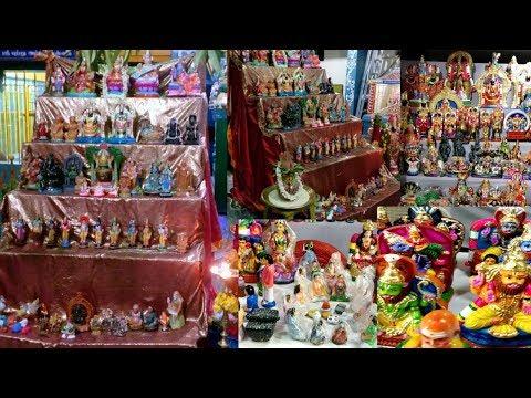 Navratri Special : New *Golu dolls* Collection at Khadi Kraft /2018/ Chennai shopping vlog (Tamil)