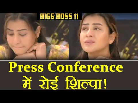 Bigg Boss 11: Shilpa Shinde CRIES INFRONT of MEDIA over Hina Khan's COMMENTS | FilmiBeat