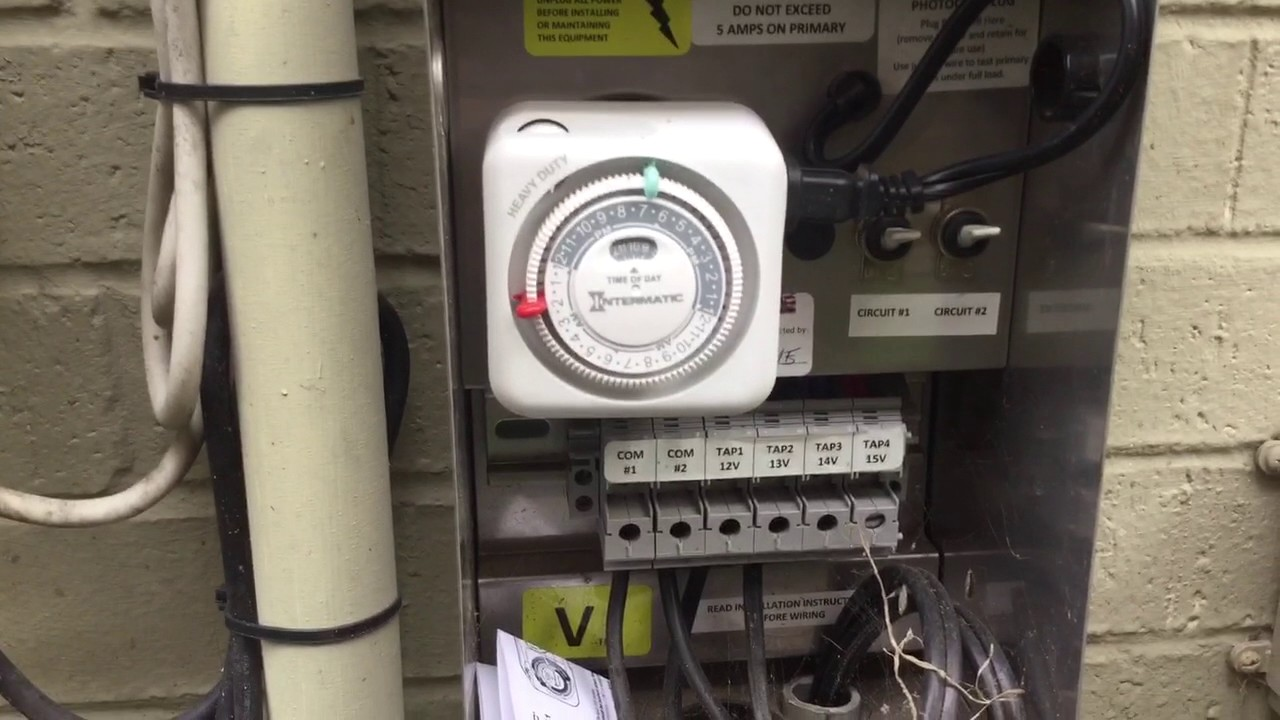 Program Landscape Lighting Timer #2 by Clean Cut Landscape - Program Landscape Lighting Timer #2 By Clean Cut Landscape - YouTube
