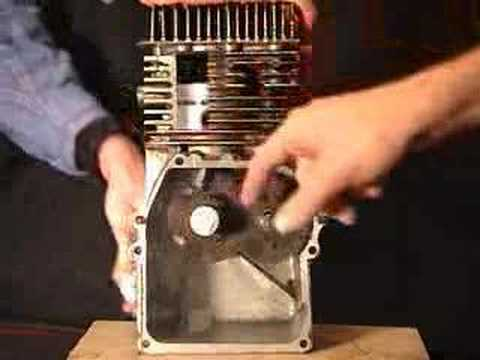 4-stroke internal combustion (IC) engine demonstration Travel Video