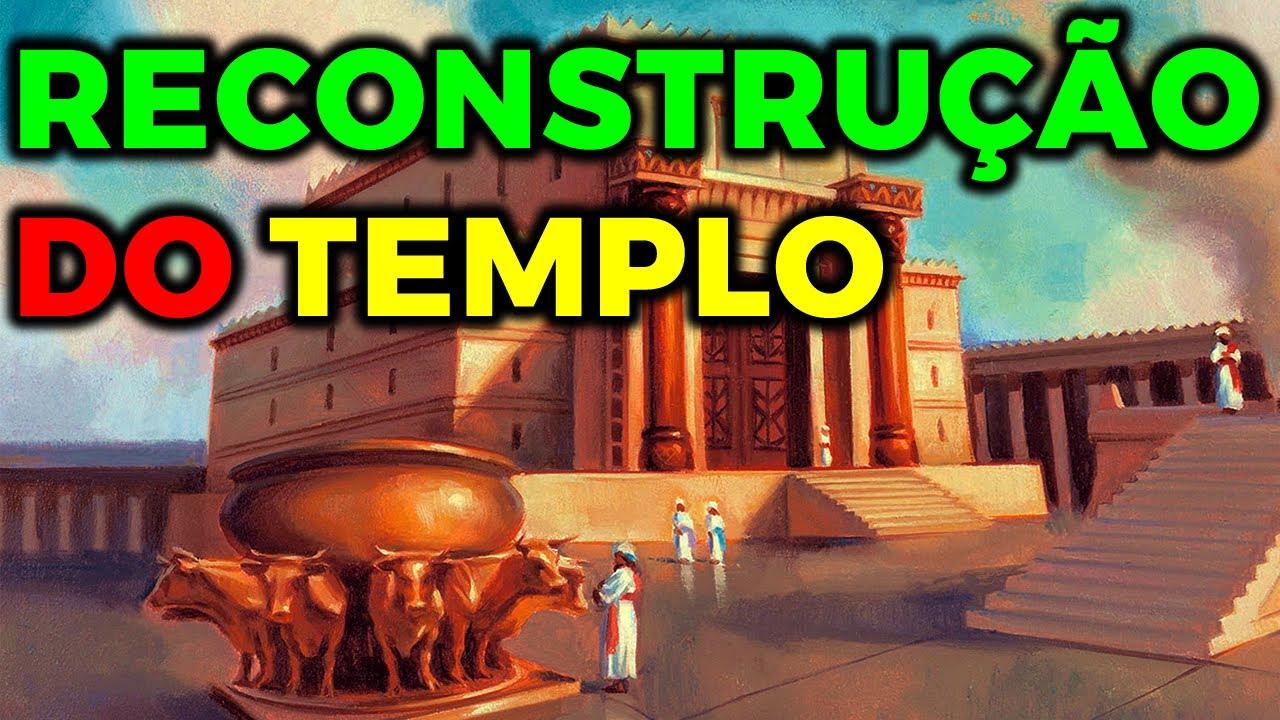 Como irá acontecer a reconstrução do Templo Sagrado dos Judeus em Jerusalém - Canal Alef