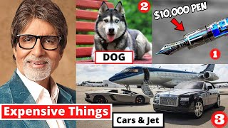 10 Most Expensive Things Amitabh Bachchan Owns - MET Ep 11