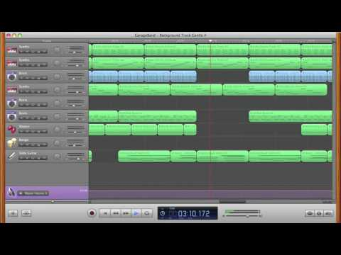 Mainstage Jam Pack Loops in GarageBand.