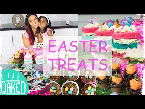 How To Make 4 Quick And Easy Easter Treats With Kids | Holiday Party Ideas | DIY & How To