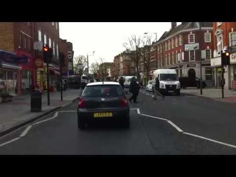 London streets (351.) - Clapham - Croydon