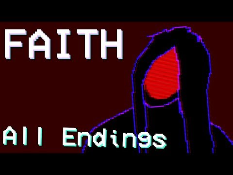 Faith - Retro Style Horror ( ALL ENDINGS / FULL PLAYTHROUGH )Manly Let's Play