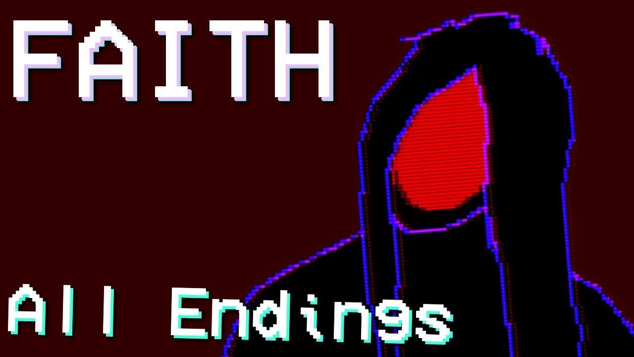 Faith - Retro Style Horror ( ALL ENDINGS / FULL PLAYTHROUGH )Manly Let's Play