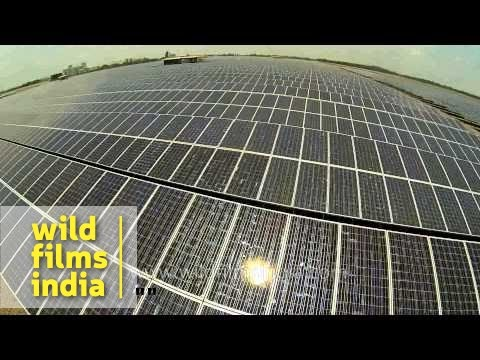 Solar power plant in Thailand