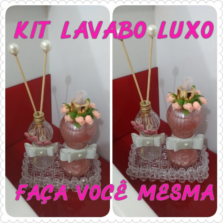 Kit Banheiro Casamento Luxo : Diy kit lavabo luxo