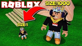 How To Become The Smallest Roblox Player Ever..