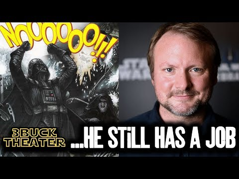 Sadly, Rian Johnson is still making STAR WARS movies