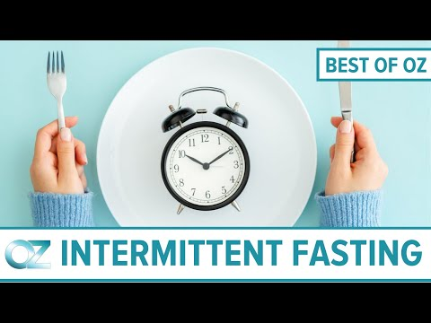 Dr Oz Investigates Intermittent Fasting Best Of Oz