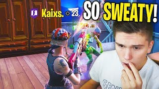 I Spectated The SWEATIEST TRYHARDS in Fortnite... (INSANE)