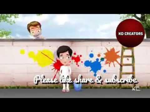Holi Special Funny Whatsapp Status Video|kd Creators