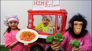 Heidi y Zidane preparan comida saludable a domicilio drive thru!