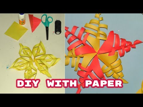 Diy with paper for kids | Paper crafts for christmas By NK Crafts