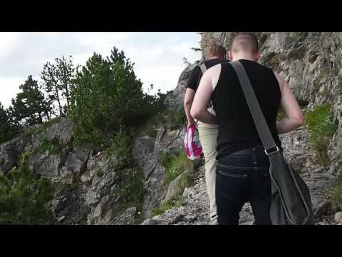 The Prince's Way (Fürstensteig) trail in Vaduz, Liechtenstein