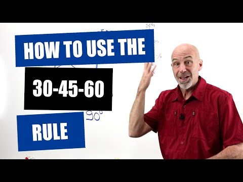 Optician Training: How To Use The 30 45 60 Rule To Determine Lens Powers In Oblique Meridians