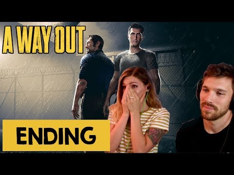 So Emotional! | A Way Out ENDING | Marz Plays