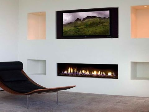 Fireplaces With Walls - Youtube