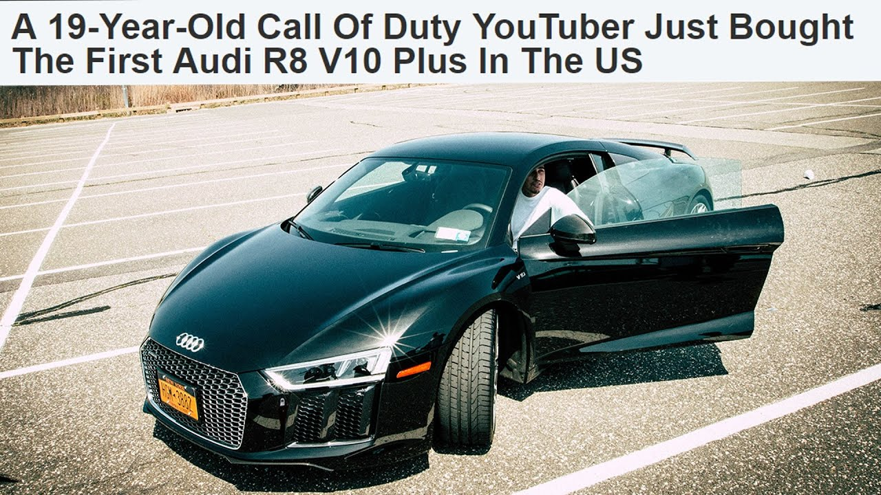 YEAR OLD YOUTUBER BUYS AUDI R YouTube - Audi car year