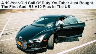 """""""19 YEAR OLD YOUTUBER BUYS 2017 AUDI R8"""""""