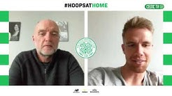 #HoopsAtHome with Kristoffer Ajer!