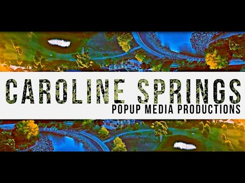 Caroline Springs Melbourne Victoria - Aerial Video Montage