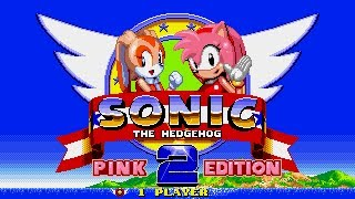 Sonic the Hedgehog 2-Pink Edition[Amy Rose run]