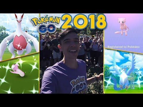 POKÉMON GO 2018 REWIND (EVENTS, ADVENTURES, AND HIGHLIGHTS)