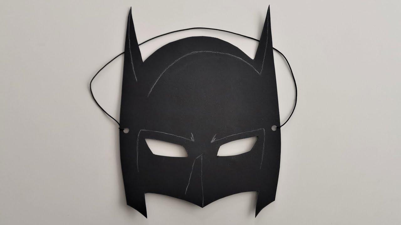 Batman Mask Png Vorlagen Batman Maske Basteln